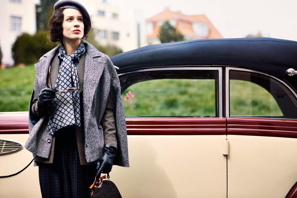 Táňa Pauhofová ako Lída Baarová v snímke  Filipa Renča.