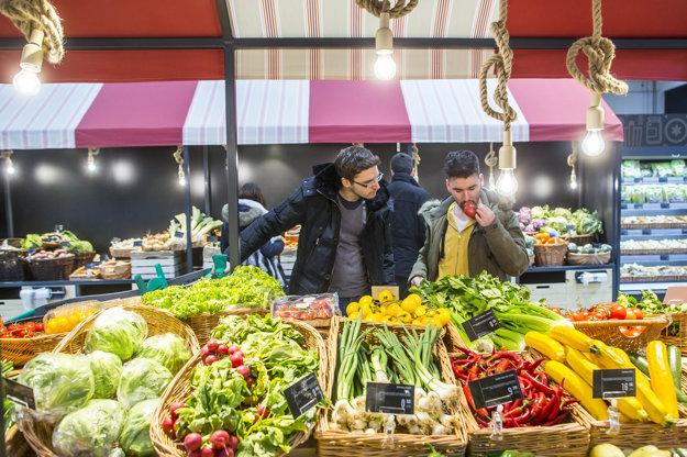 V Yeme ponúkajú ovocie a zeleninu najmä od slovenských farmárov.