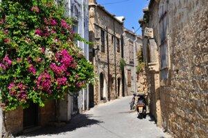 Girne, uličky starého mesta