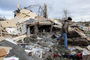 Tornáda v Alabame spôsobili rozsiahle škody.