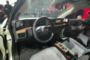 Interiér Honda e koncept
