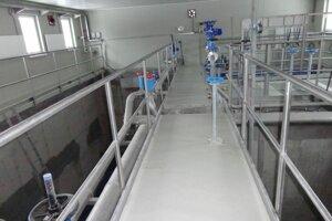 Čistiareň odpadových vôd v Liptovskej Sielnici. Vodárne ju spustili minulý rok. Má pomôcť čistote Liptovskej Mary.