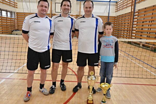 Víťaz turnaja Adamovské Kochanovce.