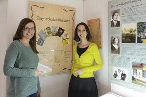 Výstava Ženy východu v literatúre.