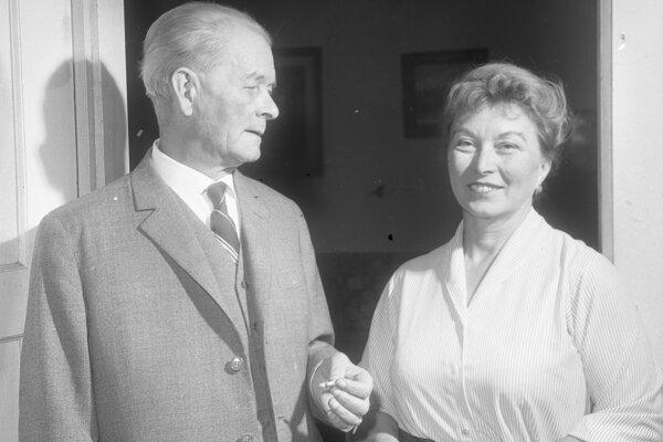 Ján Smrek a Blanka Smreková