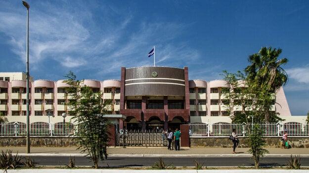Palácio do Governo, Praia