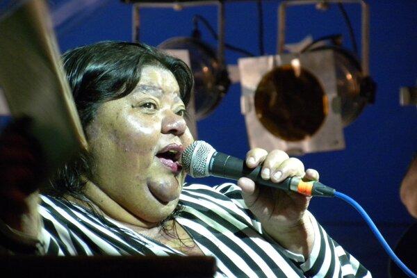 V roku 2011 vystúpila na českom letnom hudobnom festivale Sázavafest.