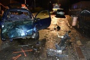 Nehodu spôsobil opitý vodič.
