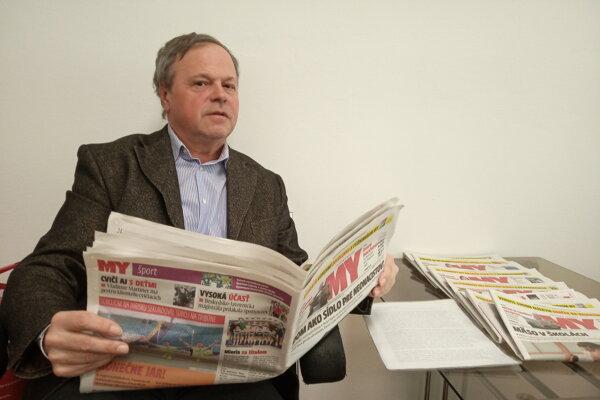 Jozef Feiler MY Žilinské noviny číta atiež do nich prispieva svojimi fotografiami.