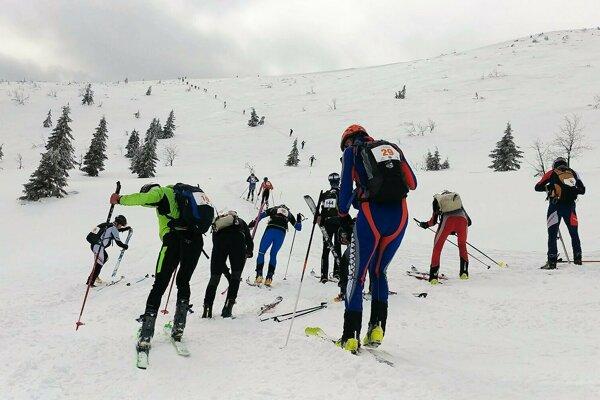 Podujatie K2 Malá Fatra privítalo viac ako sto pretekárov.