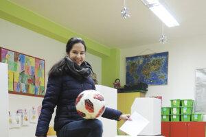 V bratislavskej Dúbravke odvolila majsterka sveta vo freestyle Lucia Kevická.