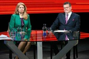 Aj z Turca dostali Zuzana Čaputová a Maroš Šefčovič pozvánku do druhého kola prezidentských volieb.
