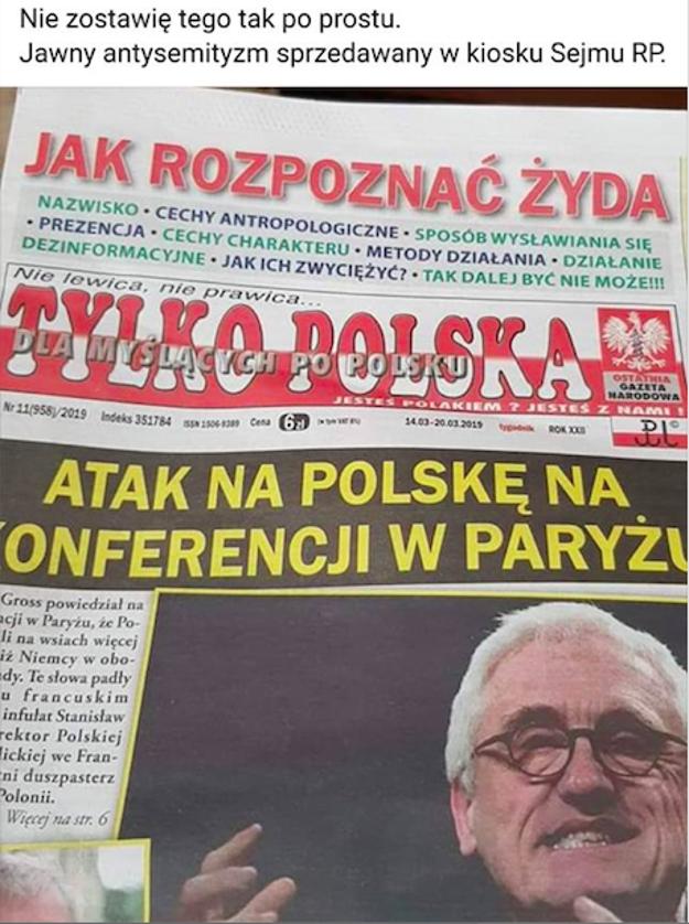 Ako rozpoznať Žida vysvetlil aj poľský časopis.