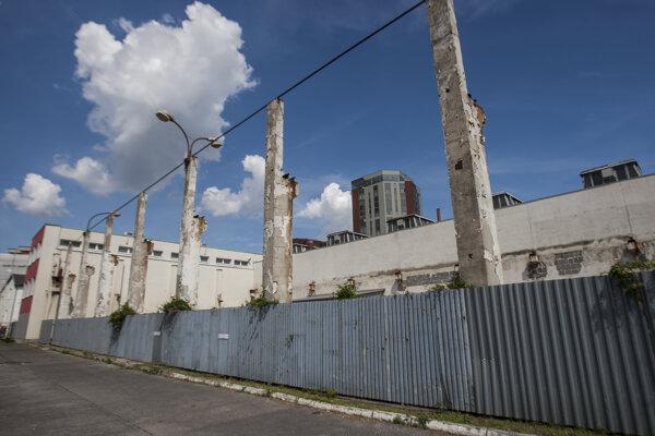 Bývalá továreň Matador v Petržalke.