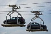 Výrobné priestory závodu Volkswagen Slovakia.