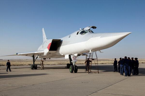 Strategický bombardér typu Tu-22M3.