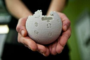 Malý glóbus, ktorý Wikipedia používa ako svoje logo.