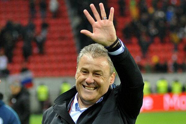 Pavel Hapal, tréner slovenskej futbalovej reprezentácie.
