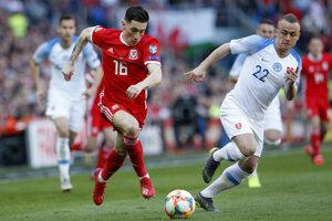 783757fbd45af EURO - ME vo futbale 2020: Pozrite si momentky zo zápasu Wales - Slovensko  (24 fotografií)