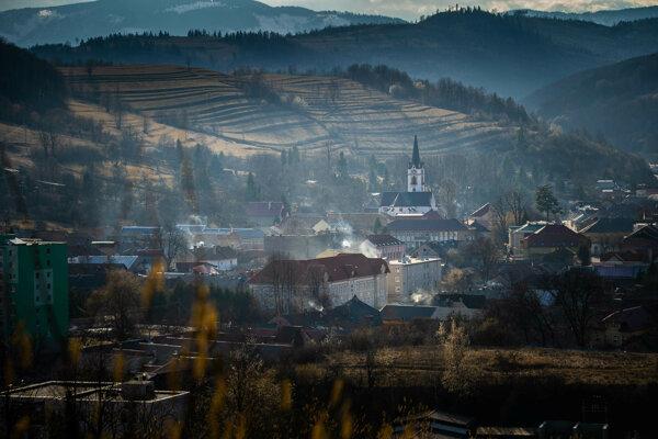 Mesto Dobšiná.