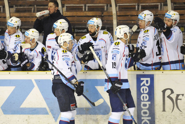 Hokejisti Nitry v nedeľu vyhrali v Žiline a s tým istým súperom sa stretnú vo štvrťfinále play-off.
