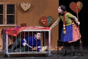 Janko a Marienka rozpovedia svoj príbeh na doskách Divadla Alexandra Duchnoviča.