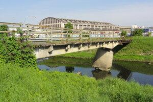 Rizikový most cez Slatinu vo Zvolene-Môťovej.