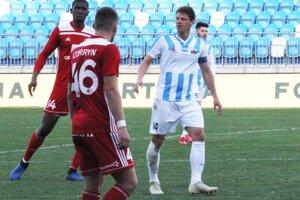 Zápas skupiny o udržanie sa vo Fortuna lige FC Nitra - AS Trenčín.