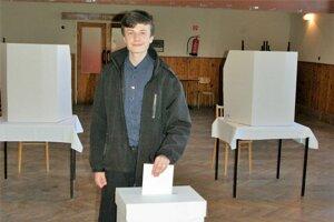 Radoslav Kufa išiel dnes k voľbám ako prvovolič.