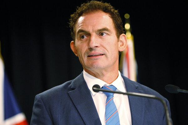 Minister pre záležitosti polície Stuart Nash.