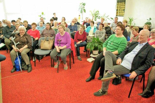 Publiku sa prerozprávané príbehy páčili.