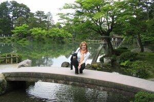V čarovných japonských záhradách.