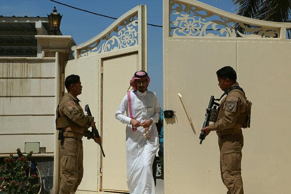 Otvorenie veľvyslanectva v Bagdade.