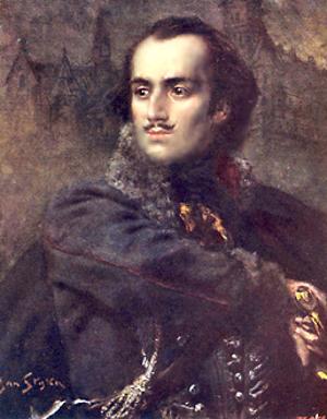 Podobizeň Casimira Pulaského.