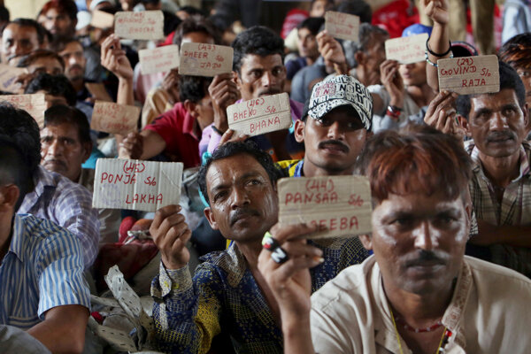 Prepustení indickí rybári.