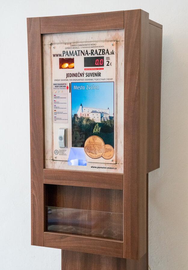 Automat na mince.