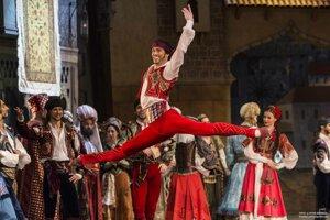 Andrej Szabo v balete Korzár