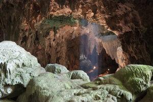Jaskyňa Callao na filipínskom ostrove Luzon, kde objavili fosílie dosiaľ neznámeho druhu človeka.