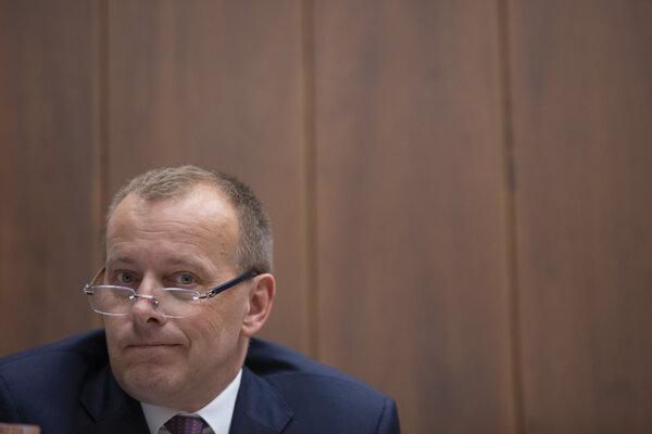 Poslanec parlamentu za politické hnutie SME RODINA – Boris Kollár.