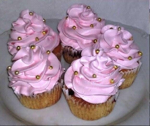 Malinovo-jogurtové cupcakes