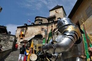 Na Oravskom hrade.