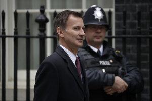 Britský minister zahraničných vecí Jeremy Hunt.