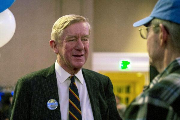 William Weld sa chcel pred dvomi rokmi stať viceprezidentom za Libertariánsku stranu.