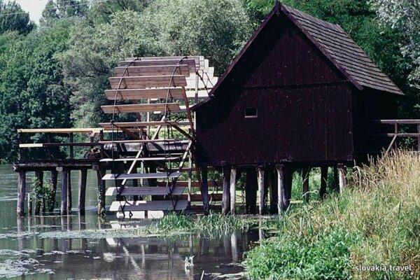 Vodný mlyn v Tomášikove.