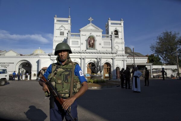 Na Srí Lanke dočasne uzatvorili kostoly a prerušeili bohoslužieby.