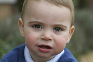 Princ Louis oslávil svoje prvé narodeniny.