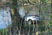 Auto Martišovej našli v rieke pri Žiari nad Hronom.