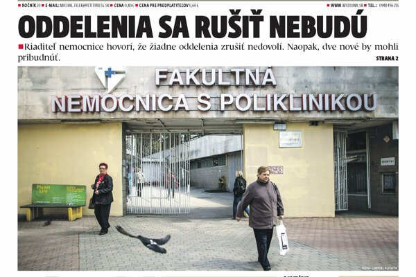 MY Žilisnké noviny.