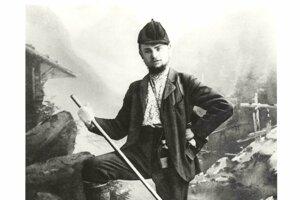 M. R. Štefánik v čase študijného pobytu v Zürichu, rok 1902.