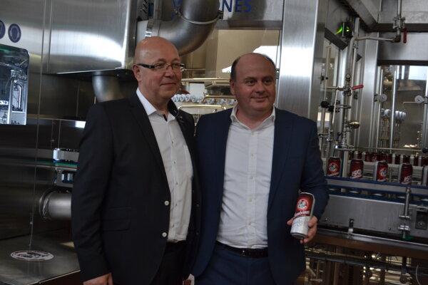 Ján Čerkala (vľavo) a Martin Grygařík.